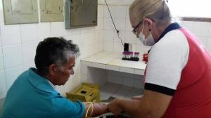Coleta de Sangue (exame PSA)